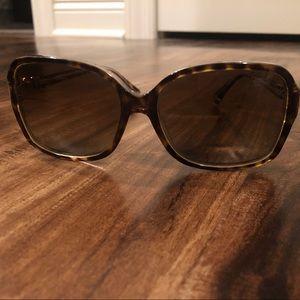 Authentic COACH tortoise sunglasses